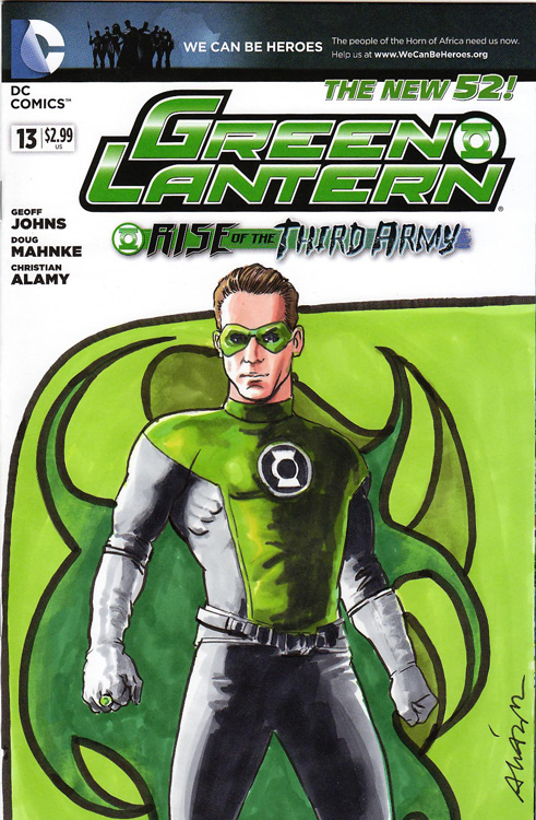Green Lantern by Vicente Alcazar