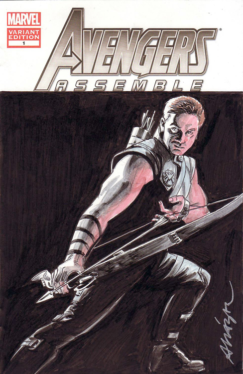 Hawkeye by Vicente Alcazar